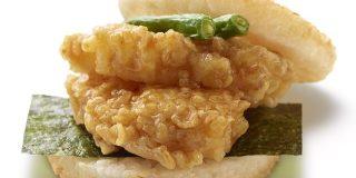 モスバーガー、天丼バーガー(450円)を発売:キニ速