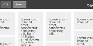 CSSスニペット:CSSのみでMasonryライクな段組レイアウト | かちびと.net