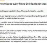 知ってると便利!HTML、CSS、JavaScriptなど、コーディングの作業を快適にするエディタの操作テクニックのまとめ | コリス