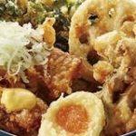 一番人気の肉天丼が復活!てんやにほろっと甘辛い「豚角煮天丼」-夏の名物「大江戸天丼」も|えん食べ