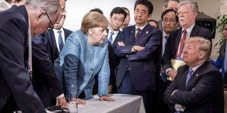 G7の「あの写真」に関する考察やパロディ集 - Togetter