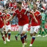 W杯開催国ロシア、サウジを5-0粉砕!ロシアW杯開幕戦を白星で飾る!ゴロヴィンが絶妙FKゴール! : カルチョまとめブログ