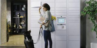 宅配ロッカー「Hub by Amazon」、50万人に提供中-アマゾン以外の荷物にも対応 - CNET