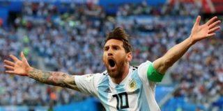 メッシ、決勝T進出で喜び爆発「全ての人に感謝したい。アルゼンチンのシャツは何よりも上なんだ」 : カルチョまとめブログ