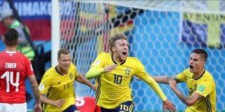 スウェーデン代表、フォルスベリ決勝ゴールでスイスに1-0勝利!堅守で得点を守り切り24年ぶりにベスト8進出 : カルチョまとめブログ