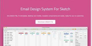 最近のHTMLメールで見かけるさまざまなレイアウトやコンポーネントが揃ったデザイン素材 -Email Design System | コリス