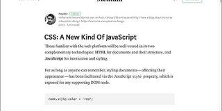 CSSはもう新種のJavaScript | コリス