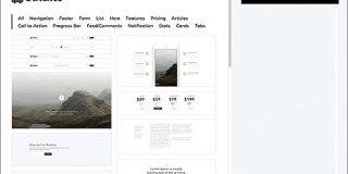 コーディング作業不要で、さまざまなHTMLページを積み木感覚で作成できる無料ツール -Stitches | コリス