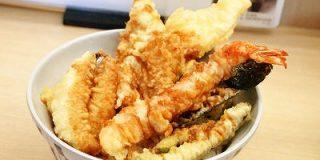 煮穴子・めごち・海老など旬の海の幸をのせた「煮穴子・めごちの海鮮天丼」を天丼てんやで食べてきた - GIGAZINE