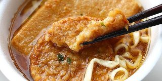 カップ麺に歌舞伎揚を入れるとすごい - デイリーポータルZ
