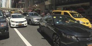 「ライドシェア」増えすぎで渋滞 NYで規制へ | NHKニュース