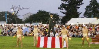 習志野第一空挺団 大隊長のオタ芸! 日本最強レベルの兵士が夏祭りでキレキレの芸を披露 - Togetter