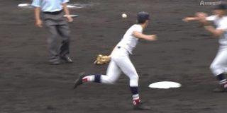 【GIF】横浜高校の華麗な守備 : やみ速