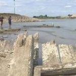 123年前の沈没船出現-猛暑で水位低下したライン川で ドイツ | NHKニュース