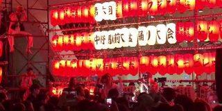 盆踊り会場でDJ KOO、ボン・ジョヴィ、YMCA…!「中野駅前大盆踊り大会」はクラブと化し最高にブチ上がる皆さん - Togetter