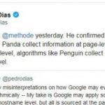 ページ単位で情報を収集しつつもホスト名単位で作用するアルゴリズムと、そのページにのみ作用するアルゴリズムがGoogleにはある | 海外SEO情報ブログ