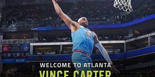 ホークスがビンス・カーターとの契約を発表 | NBA Japan