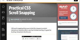 CSSでスクロールのスナップが可能に!scroll-snapプロパティの基礎知識と便利な使い方 | コリス