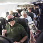 アラスカ航空がファーストクラスのエンターテインメントにVRを試験導入 | TechCrunch