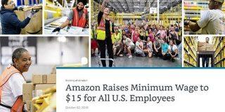 Amazon、最低賃金を時給15ドルに引き上げ「批評を受け」とベゾスCEO - ITmedia