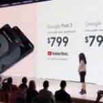 Google、待望の「Pixel 3」を正式発表。お値段95000円から : IT速報