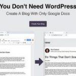 Googleドキュメントでブログを生成できるサービス「You Don't Need WordPress」 | Webクリエイターボックス