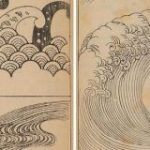 明治時代に刊行された日本画独特の波の描き方が記された『波紋集』全巻がオンラインで無料公開! : カラパイア