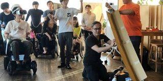 次世代電動車椅子「WHILL」のハッカソンが開催-自宅で4DX体験や博物館巡り - CNET