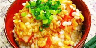 【たったの3分】カニカマで作る「ずぼら天丼」なら揚げずに簡単! | クックパッドニュース