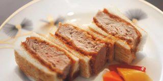 加賀料理の名店特製かつサンドは 肉が厚くてパンがカリッ! | CREA
