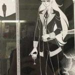 魔夜峰央先生の原画展、ホワイトを使わない生原稿がとにかく美しいというお話「ひたすら繊細で美麗」「画力の暴力」 – Togetter