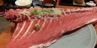 金沢のとある海鮮料理店の「まぐろの中落ち」がメニューの写真と全然違う!そのとんでもないボリュームに戸惑いを禁じ得ない - Togetter