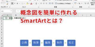 【Excel】もう組織図や作業フロー図の作成に苦労しない!エクセルのSmartArtでラクして概念図を作成するテクニック - 窓の杜