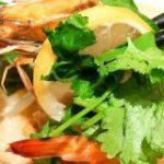 あとのせパクチーをプリプリの海老&帆立とともに楽しめる大戸屋「海老と帆立の香草レモン鍋定食」を味わってきた – GIGAZINE