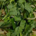 春菊はオイルソースでパスタにすると『香草としてのぶっこわれ性能』が発揮されるらしい「これはマジ」「えぐみはどこへ…ってなる」 – Togetter