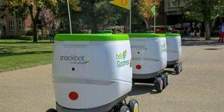 PepsiCo、スナックとドリンクの移動販売ロボットを大学で提供開始 - CNET