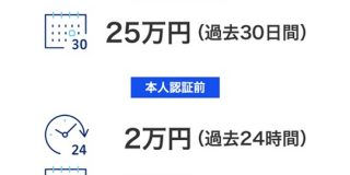 PayPay、3Dセキュアに対応。本人認証すれば上限25万円に : IT速報