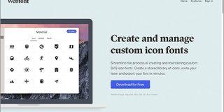 これなら簡単!SVG対応、アイコンを組み合わせてWebフォントのセットを作成できる無料ツール -Webfont | コリス