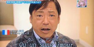 香川照之さん、ミニコントでフランス語をペラペラ話してフランス国歌も歌える!フランス語もコントとしても仕上がっててびっくり #ぴったんこカンカン - Togetter