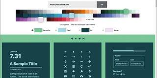 色の組み合わせ方の参考にいい!Webサイトやスマホアプリに適したカラーパレットを生成する無料ツール -Color | コリス