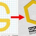適当に描いた絵をスタイリッシュなロゴにしてくれる「Logoshi」を使ってみた – GIGAZINE