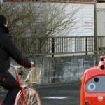 日本郵便が総力上げて作り上げた自動郵便配達ロボットがこちら|暇人速報