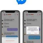 Facebookの「Messenger」に送信取り消し機能 10分以内なら可能に – CNET