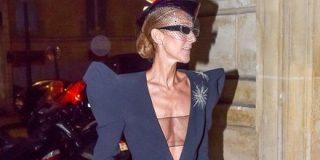 素肌にスーツの出で立ちのセリーヌ・ディオンさんが戸愚呂弟みたいに見えるっていうお話 - Togetter
