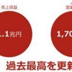 楽天、売上高1兆円超えの大快挙 : IT速報