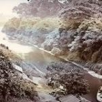 約150年前の神田川の奥に映る秋葉原の風景にテンションが上がる人々「趣が深い」「歴史のロマンを感じる」 – Togetter