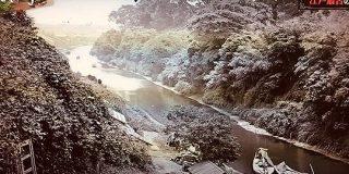 約150年前の神田川の奥に映る秋葉原の風景にテンションが上がる人々「趣が深い」「歴史のロマンを感じる」 - Togetter
