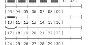 日付を指定するだけでunicodeによるカレンダーを作ってくれるWebアプリ「Unicode Calendar Generator」 | かちびと.net