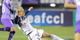 本田圭佑、絶妙スライディングゴール!広島が東・渡ゴールでメルボルンVに2-1勝利しACL今季初勝利 : カルチョまとめブログ