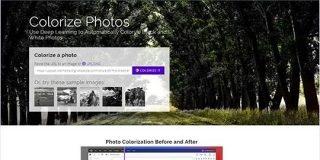 白黒写真に自動で色付けしてくれるオンラインツール・「Colorize Photos」 | かちびと.net